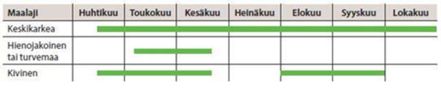 kuusen istutusajankohta graafina