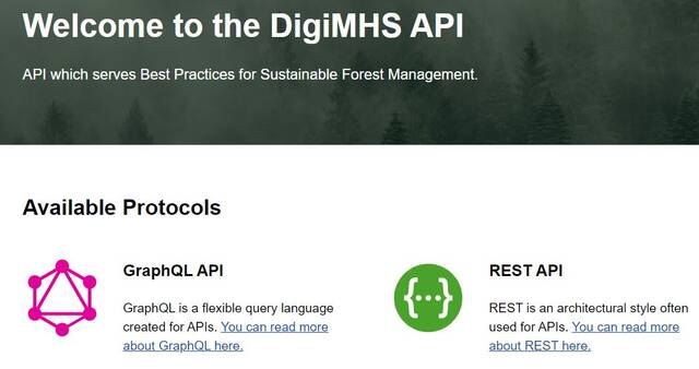 Kuvakaappaus: DigiMHS API.