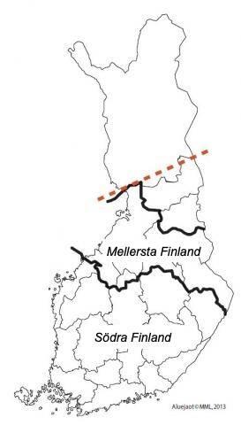 Karta över risk för spridning av rotticka